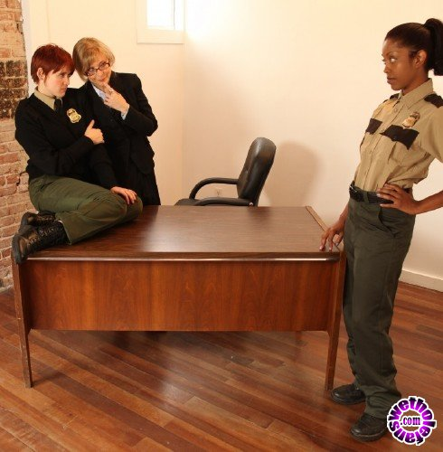 SexyMomma - Lily Cade, Lotus Lain, Nina Hartly - New Guard, Lotus, is Forced to Prove Herself to Nina and Lily (FullHD/1080p/794 MB)