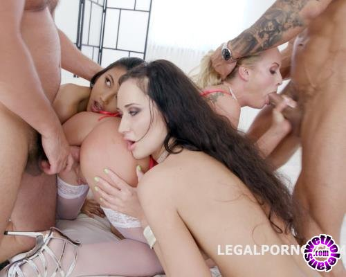 LegalPorno - Krystal Kaytlin, Angie Moon, May Thai - Outnumbered Both Ways Part 1 Crystal Kaytlin, May Thai And Angie Moon Balls Deep Anal, DAP, Squirt To Mouth, Gapes GIO678 (HD/720p/1.42 GB)