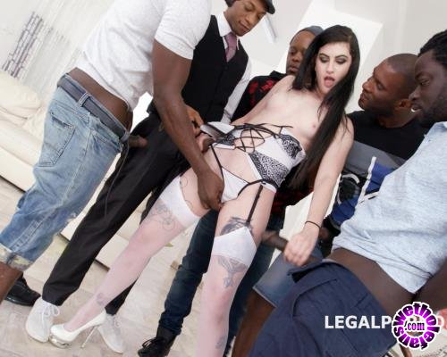 LegalPorno - Lydia Black - Waka Waka, Blacks Are Coming! Lydia Black Gets 5 BBC With Balls Deep Anal, Gapes, Swallow GIO696 (UltraHD/4K/11.1 GB)