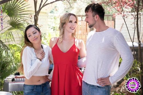 TransAngels - Kayleigh Coxx, Mason Lear - Grilling and Drilling (FullHD/1080p/1.22 GB)