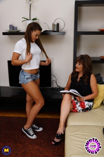 Mature - Candy Cheery 21, Pandora EU 57 - Hot babe having fun with a naughty mature lesbian (FullHD/1080p/1017 MB)