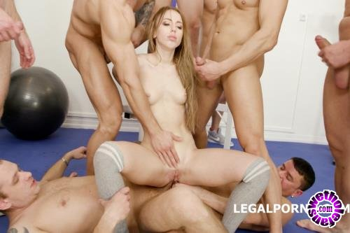 LegalPorno - Kira Thorn - 10 On 1 Anal, DAP, TP Gangbang With Kira Thorn With Big Gapes And 10 Swallows GIO605 (UltraHD/4K/15.0 GB)