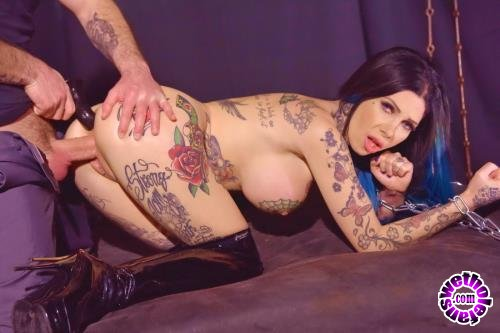 LegalPorno - Megan Inky - Tattooed Megan Inky Dominates Her Boss During Extreme Double Penetration GP057 (HD/720p/1.20 GB)