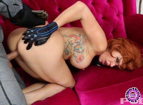 Puba - Savana Styles - Batman delivers Pizza to Black Widow with his special sausage (HD/1.13GB)