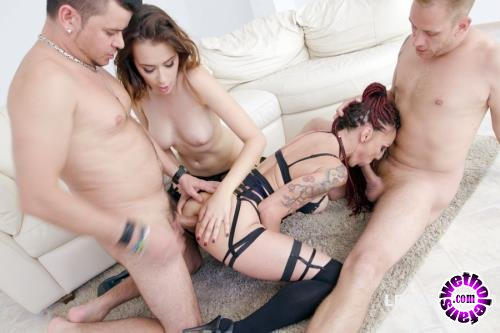 LegalPorno - Lyna Cypher, Victoria J - Double Addicted With Anal Fisting Lyna Cypher And Victoria J Balls Deep Anal, DAP, Squirt To Mouth GIO715 (HD/720p/1.93 GB)