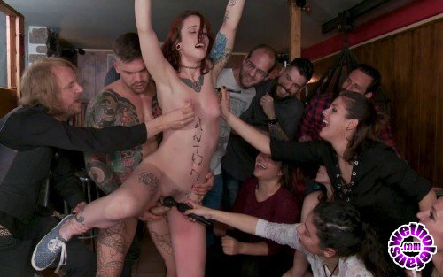 PublicDisgrace/Kink -  Juan Lucho, Lilyan Red, Mona Wales  - Spanish Slut Lilyan Red is Milked, Tormented And Fucked by Mona Wales (HD/720p/1.85 GB)