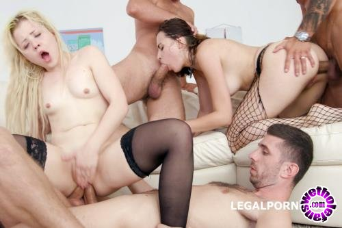 LegalPorno - Anna Rey, Victoria J - Fuck And Squirt With Victoria J And Anna Rey, Anal, DAP, Squirt, Prolapse Licking, Creampie To Swallow GL017 (FullHD/1080p/4.59 GB)
