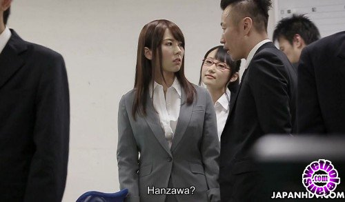 JapanHDV - Yui Hatano - Yui Hatano has to suck the dicks of her colleagues (FullHD/1080p/851 MB)