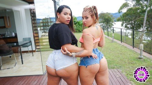 HerBigAss/PornDoePremium - Andrea Flores, Jesica Dulce - 2 Times The Charm (HD/720p/517 MB)