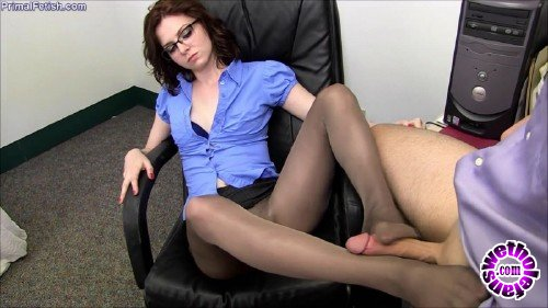 PrimalFetish/Clips4Sale - Emma OHara - The New Boss - Pantyhose Domination (HD/720p/409 MB)