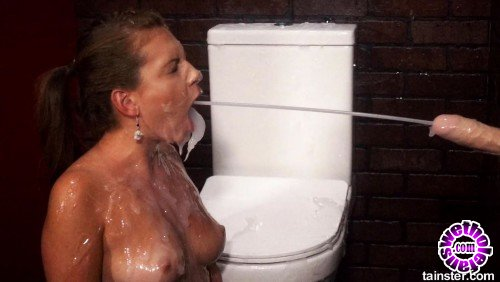 SlimeWave/Tainster - Amateur - Domme Makes Her Friend Fuck Goo Spraying Dildo (FullHD/1080p/1.04 GB)