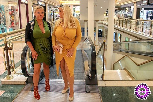 Mature - Alexa Blun 49, Musa Libertina EU 53 - These big breasted ladies go out for toy shopping to play with later on (FullHD/1080p/1.47 GB)