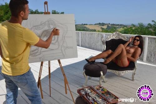 PinkOTgirls - Renata Molina - Fucks The Ass Of A Young Painter (HD/720p/849 MB)