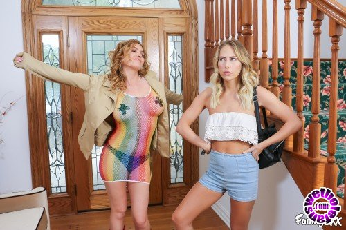 Family - Carter Cruise, Krissy Lynn - Stepmom Really Knows How To Have Fun (HD/720p/1.09 GB)