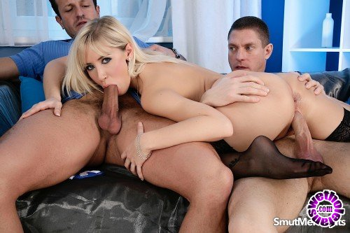 SmutMerchants - Karlie Simon - Lusty Karlie Gets All Holes Filled (HD/720p/586 MB)