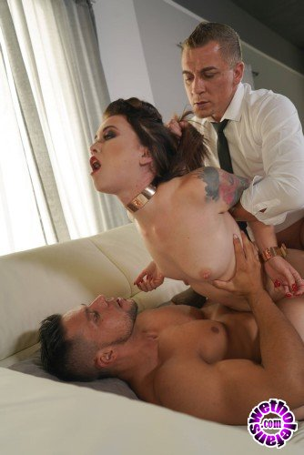 HarmonyVision - Misha Cross - Cuffed For Rough Double Penetration (FullHD/1.8GB)