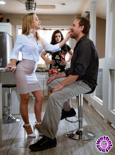 HotAndMean/Brazzers - Kimber Woods - You Have To Go Through Me First (FullHD/1.40 Gb)