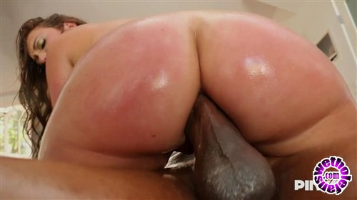 PinkoClub -  Maddy O'Reilly  - Brunette Girl Gets Her Ass Fucked By A Huge Black Dick  (HD/720p/606 MiB)
