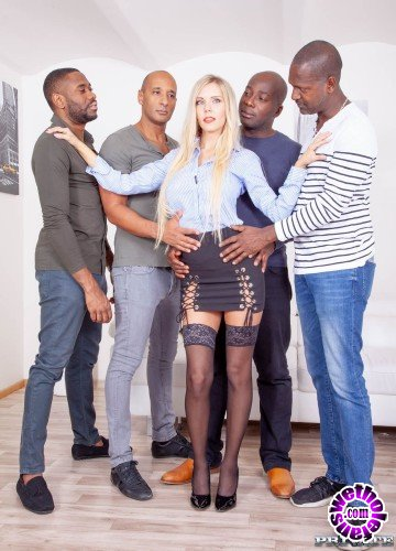 Private - Florane Russell - Four Black Studs for Blonde Nympho (HD/1.31GB)