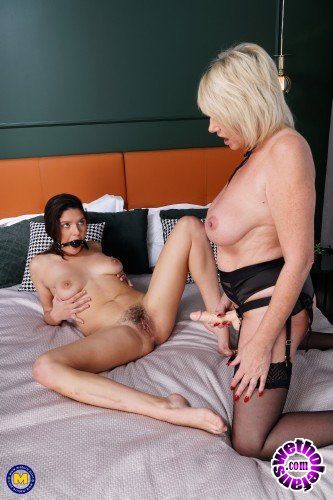 Mature - Amy EU 56, Francesca DiCaprio 24 - Amy has some special tricks up her sleeve just for Hairy (FullHD/1080p/1.65 GB)