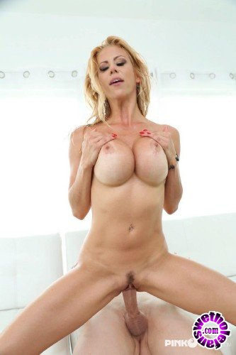 PinkoClub - Alexis Fawx - Blonde and busty with cock in mouth (FullHD/1080p/853 MB)