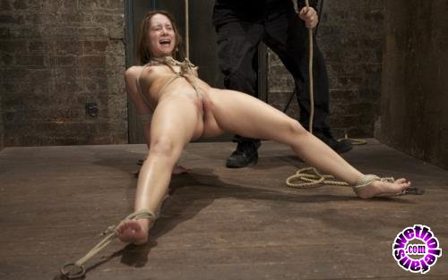 Kink - Remy Lacroix - Cute girl next door, bound, face fucked, made to cum over over, brutal bondage and pussy torture! (HD/720p/706 MB)