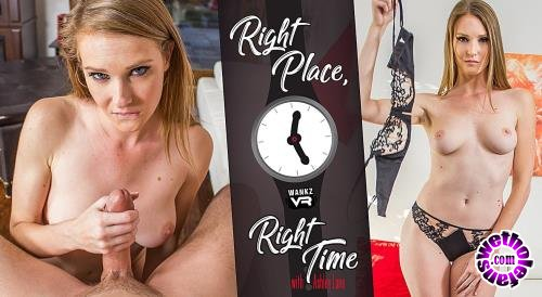 WankzVR - Ashley Lane - Right Place, Right Time (FullHD/1600p/5.26 GB)