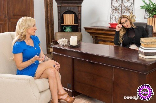 PinkoClub - Eva Notty, Zoey Portland    - Two busty blondes enjoy together in the office (HD/720p/314 MB)