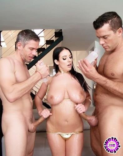 EvilAngel.com - Angela White, Mick Blue, Ramon Nomar - Oil Slick 2, Scene 1 (2019/FullHD/1.6GB)
