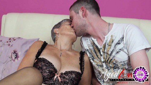 OldNanny/AgedLove - Savana, Jimi - Lady Savana in lingerie has sex with young guy (HD/720p/306 MB)