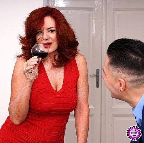 Mature - Andi James 53 - Beautiful redhead Milf Andi James getting a creampie after fucking and sucking (FullHD/1080p/1.44 GB)