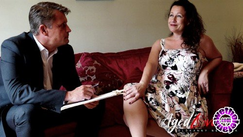 OldNanny/AgedLove - Eve-Jayne, Marc Kaye - Sexy older woman with big tits has sex with director (HD/720p/361 MB)