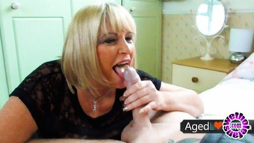 OldNanny/AgedLove - Alisha Rydes, Luke Hotrod - British blonde mature with saggy tits having sex with lover (FullHD/1080p/1.76 GB)