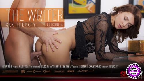 SexArt - Alexis Brill,Luna,Whitney Conroy - The Writer - Sex Therapy (HD/720p/1.32 GB)
