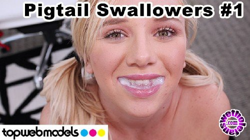 TopWebModels - Heather Lee - Pigtail Swallowers Compilation 1 (FullHD/1080p/3.73 GB)