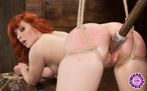 Kink - Sadie Kennedy - 18 Year Old Redhead Slut Fucked Silly in Tight Bondage (HD/720p/1.32 GB)
