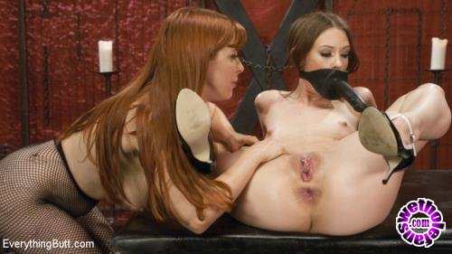 EverythingButt/Kink - Penny Pax, Alexa Nova - Red Head Fistings, Anal Strap-on, Gaping and Face dildos (HD/720p/2.00 GB)