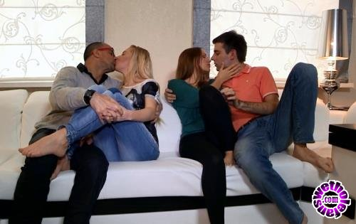 YoungSexParties - Anna, Angela - Sharing the Fruit of Group Sex (HD/720p/422 MB)