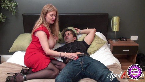 AgedLove - Lily May, James Turley - Hot fuck with blonde mature UK lady Lily May (HD/720p/445 MB)