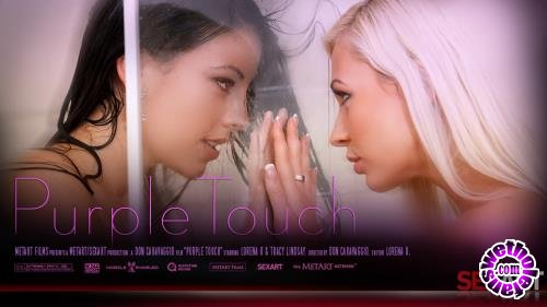 SexArt - Lorena B,Tracy Lindsay - Purple Touch (HD/720p/379 MB)